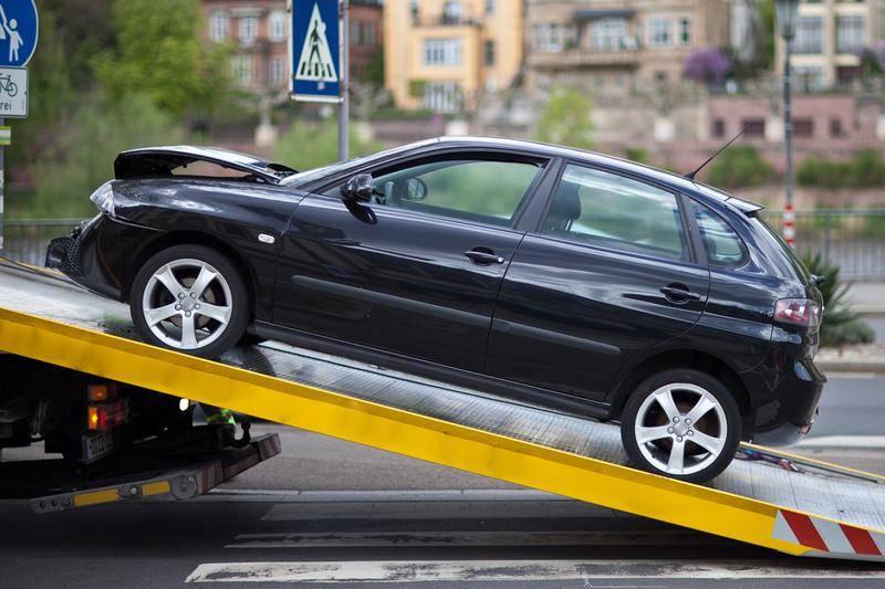 car towing - car recovery Dublin